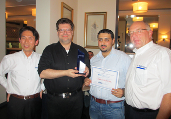 Datavideo Distributor of the Year - 2012 | Oasis Enterprises