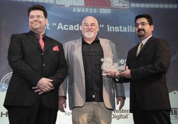 Digital Studio Awards ( 2009) - College of Fine Arts - University of Sharjah | Oasis Enterprises