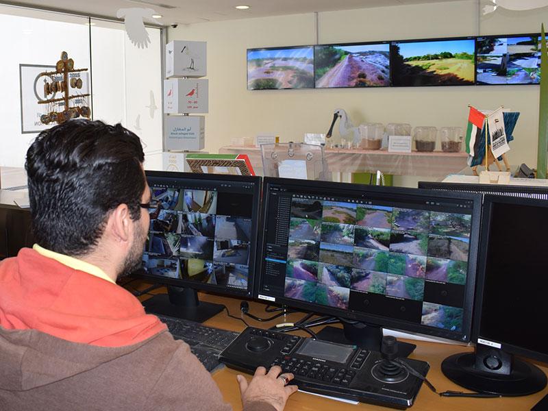 WASIT wetland | CCTV Control Room | Pro AV Solution | Oasis Enterprises