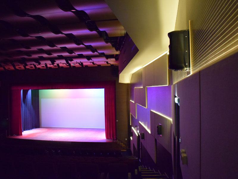 Al Mawakeb School | Auditorium Lighting Solution | Oasis Enterprises