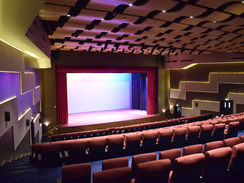 Al Mawakeb School Auditorium- Dubai | Complete Turnkey Solutions | Oasis Enterprises