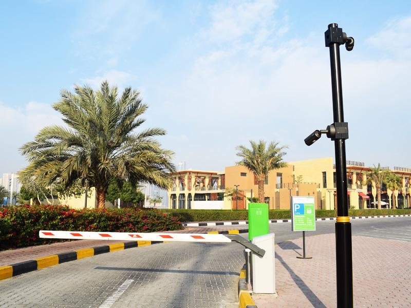 Al Majaz Waterfront Park | Gate Barrier CCTV Security Systems Theme Park | Oasis Enterprises