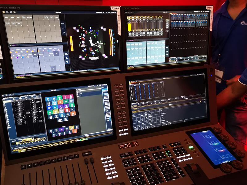 Al Arabiya News Channel, Dubai | Lighting Console | Oasis Enterprises