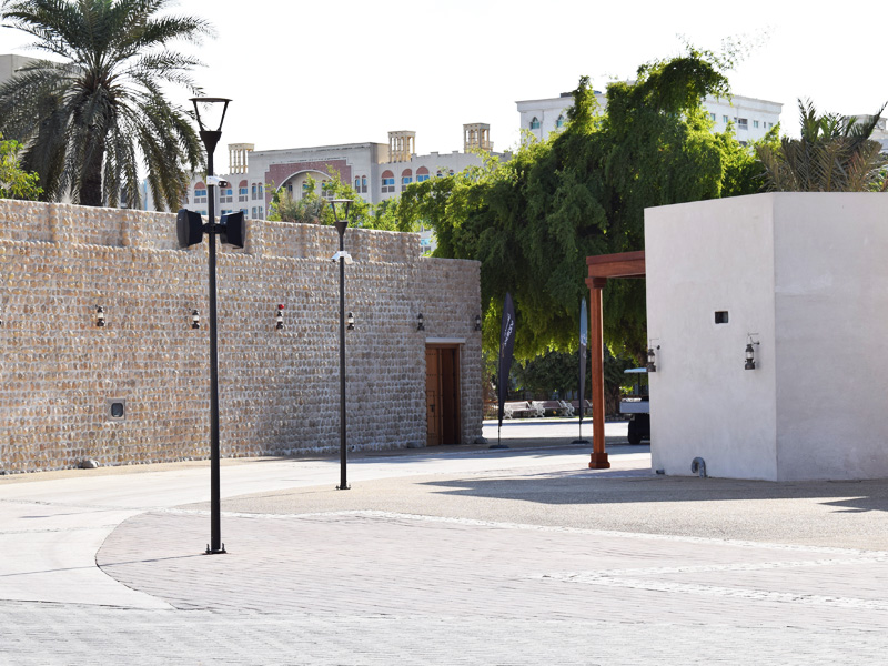 Heart of Sharjah – Museum | Gate Barrier CCTV Security Systems Theme Park | Oasis Enterprises