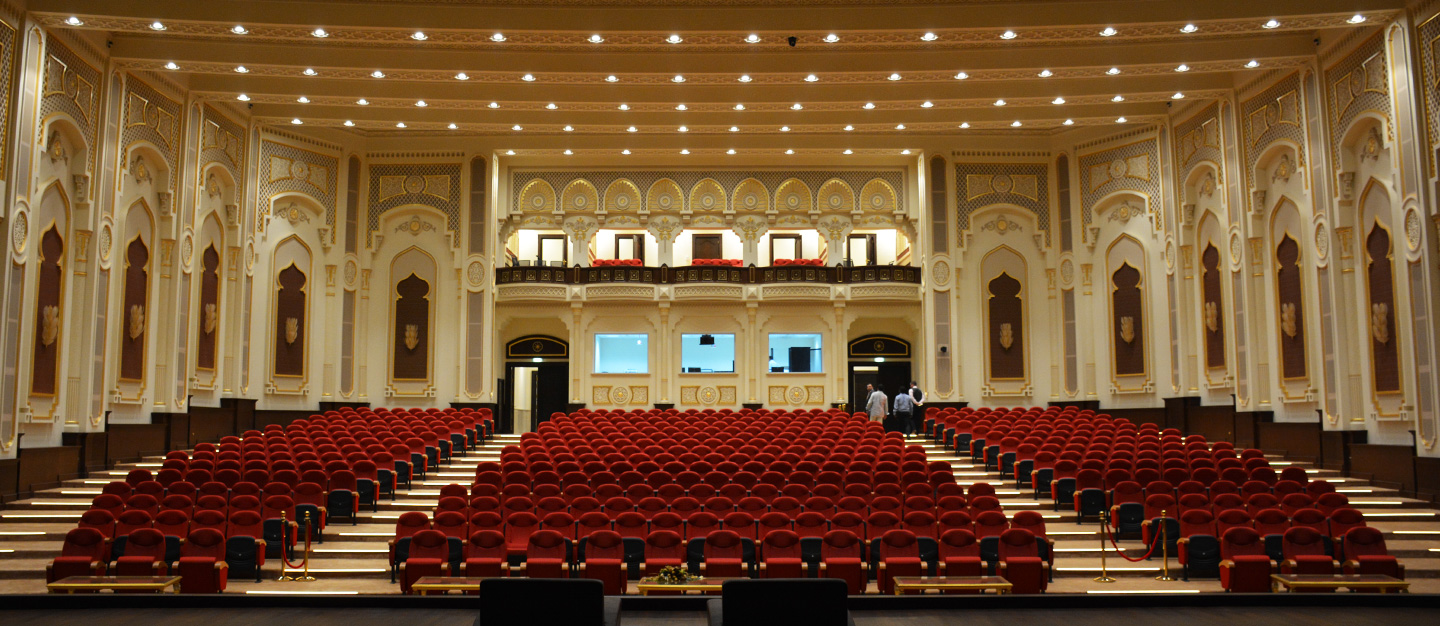 Al Qasimia University, Sharjah | Turnkey Project for the Audio, Visual and Lighting Systems | Oasis Enterprises