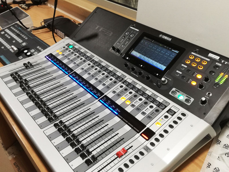 Saudi German Hospital Ajman | Audio Console system | Oasis Enterprises