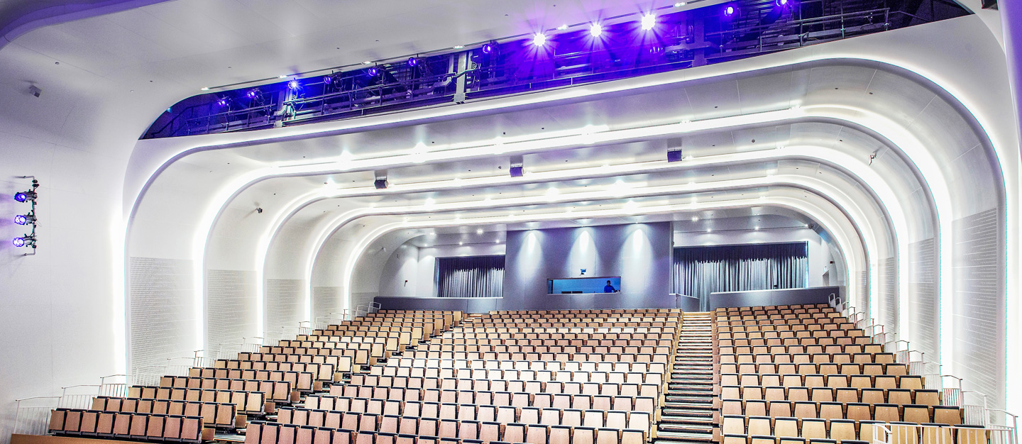 Swiss International Scientific School Dubai |  AV, Lighting, Rigging & Control systems | Oasis Enterprises