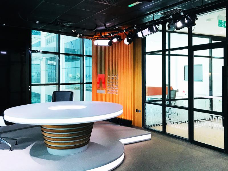 RAK Govt. Media Office | Studio Lighting Solution | Oasis Enterprises